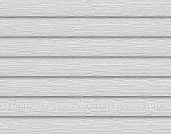 Металлический сайдинг AQUASYSTEM узкая скандинавская доска PE 154 мм полиэстр. Цвет RAL9010 мраморно белый.