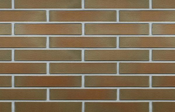 Клинкерный кирпич ROBEN CANBERRA XLDF 17 с оттенком гладкий 365x115x52