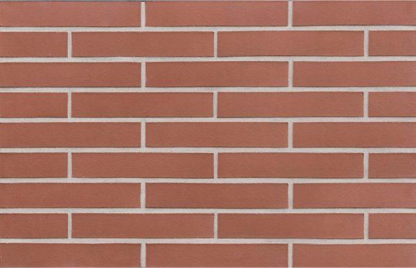 Клинкерный кирпич ROBEN MELBOURNE LDF 26 красный гладкий 290x115x52