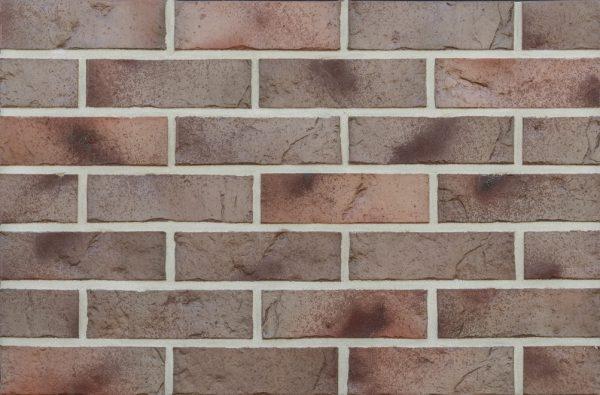 Клинкерный кирпич ROBEN MILTON NF 60 с оттенками серо бежево коричневый 240x115x71