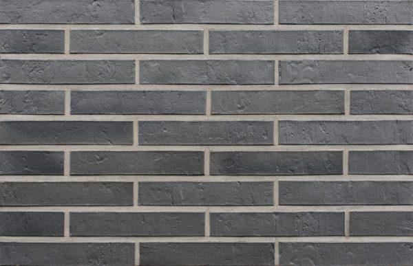 Клинкерный кирпич ROBEN SYDNEY LDF 20 антрацит с оттенком 290x115x52