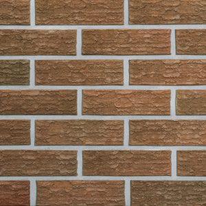 Клинкерный кирпич ROBEN SORELL NF 77 красный с оттенком рустикальный 240x115x71