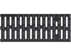 Решетка для каналов ACO Multiline V100 нескользящая (пластиковая, 8мм)