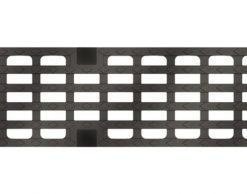 Решетка для каналов ACO Multiline V100 сетчатая (из чугуна сфероидального)