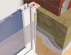 Profil Systems профиль примыкающий оконный 6 мм, без пыльника, 2.4 м