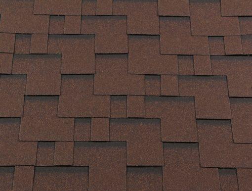 Roofshield (Руфшилд) КЛАССИК Модерн, цвет - коричневый с оттенением (C-M-16)