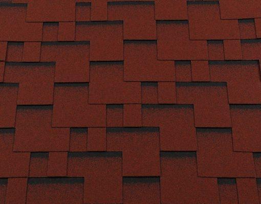 Roofshield (Руфшилд) КЛАССИК Модерн, цвет - красный с оттенением (C-M-21)