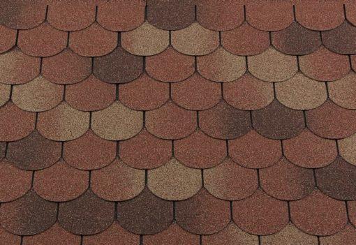 Roofshield (Руфшилд) ФЕМИЛИ ЛАЙТ Готик, цвет - терракота (FL-G-30)