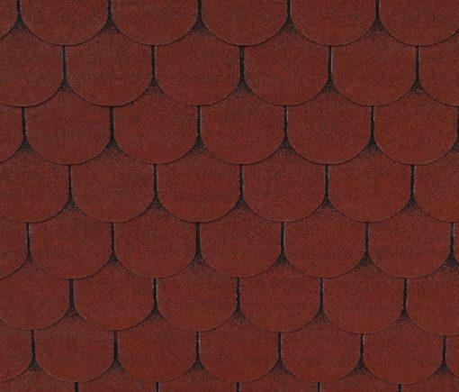 Roofshield (Руфшилд) ФЕМИЛИ ЛАЙТ Готик, цвет - красный (FL-G-31)