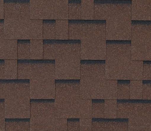 Roofshield (Руфшилд) ФЕМИЛИ ЛАЙТ Модерн, цвет - коричневый с оттенением (FL-M-16)