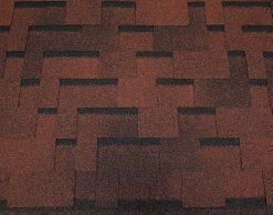 Roofshield (Руфшилд) ФЕМИЛИ ЭКО ЛАЙТ Модерн, цвет - красный с оттенением (FL-M-50)