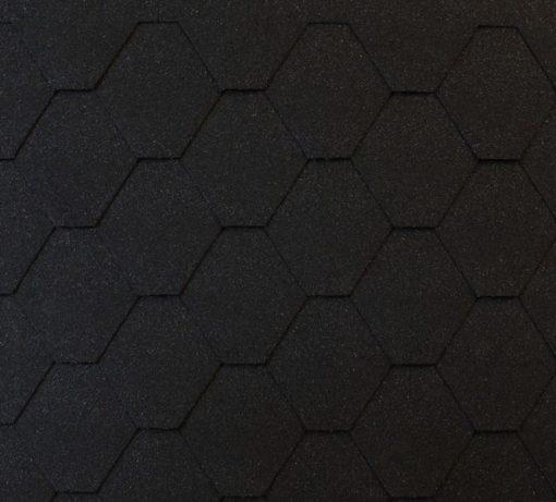 Roofshield (Руфшилд) ФЕМИЛИ ЭКО ЛАЙТ Стандарт, цвет - графитно черный (FL-S-15)