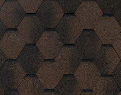 Roofshield (Руфшилд) ФЕМИЛИ ЭКО ЛАЙТ Стандарт, цвет - коричневый с оттенением (FL-S-49)