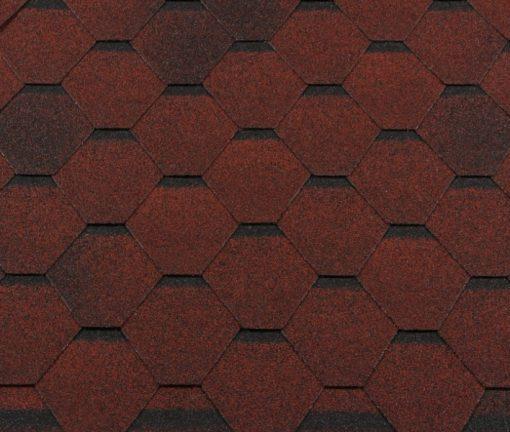 Roofshield (Руфшилд) ФЕМИЛИ ЭКО ЛАЙТ Стандарт, цвет - красный с оттенением (FL-S-50)