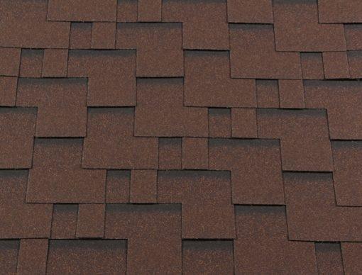 Roofshield (Руфшилд) ПРЕМИУМ, цвет - коричневый с оттенением (P-M-16) Модерн