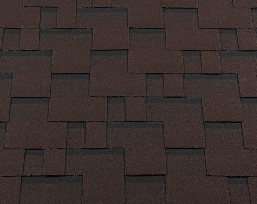 Roofshield (Руфшилд) ПРЕМИУМ Модерн, цвет - каштан (P-M-44)