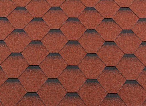 Roofshield (Руфшилд) ПРЕМИУМ Стандарт, цвет - кирпично красный с оттенением (P-S-11)