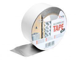 Tectis Aluminium Tape 50 мм x 50 м.п. односторонняя алюминиевая лента скотч для пароизоляции в сауне