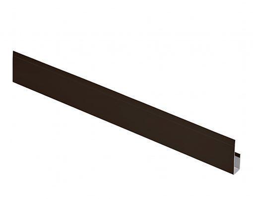 G-планка оцинкованная AquaSystem Polyester тёмно-коричневая (RR32)