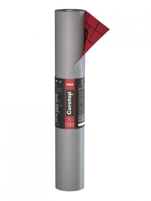 Corotop Power 250 гидроизоляционная мембрана на сплошную обрешетку
