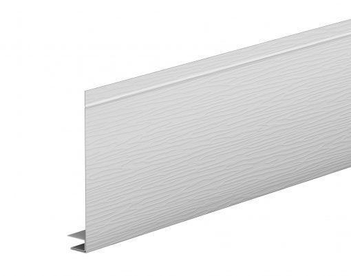 J-фаска алюминиевая AquaSystem POLYESTER мраморно-белый (RR20)