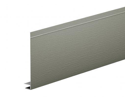 J-фаска алюминиевая AquaSystem POLYESTER серый мох матовый (RAL7003 PE)