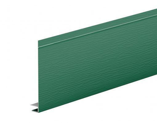 J-фаска оцинкованная AquaSystem GREENCOAT PURAL BT зеленый мох (RAL6005)