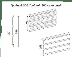 Софит металлический AquaSystem с центральной перфорацией GreenCoat Pural BT