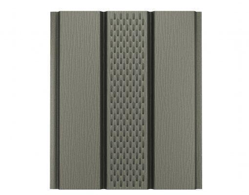 Софит алюминиевый AquaSystem серый мох матовый (RAL7003 PE)