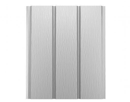 Софит алюминиевый без перфорации Polyester мраморно-белый (RR20 PE)
