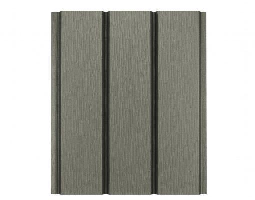 Софит алюминиевый без перфорации Polyester серый мох матовый (RAL7003 PE)