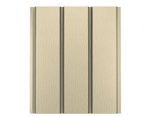 Софит алюминиевый без перфорации Polyester слоновая кость матовый (RAL1015 PE)