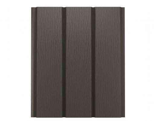 Софит без перфорации GreenCoat Pural BT темно-коричневый (RR32)