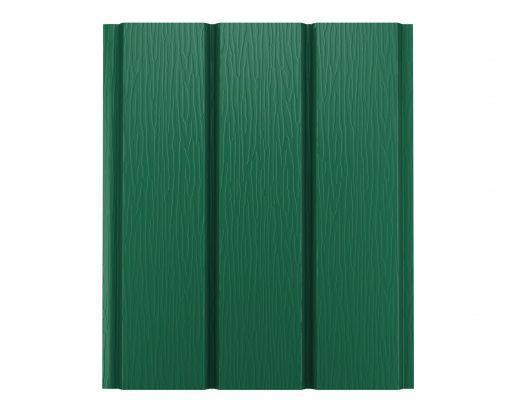 Софит без перфорации GreenCoat Pural BT зеленый мох (RAL6005)