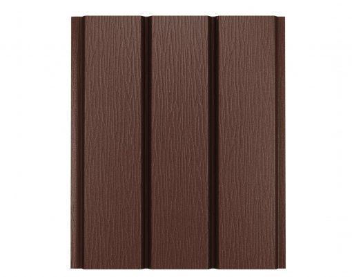 Софит без перфорации матовый GreenCoat коричневый матовый (RAL8017 МАТТ)
