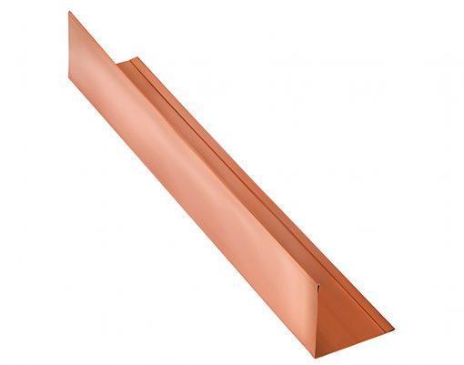 Планка угловая (внешняя) медь