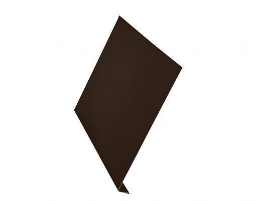 Ветровая планка AquaSystem матовый GreenCoat Pural BT темно-коричневый (RR32)