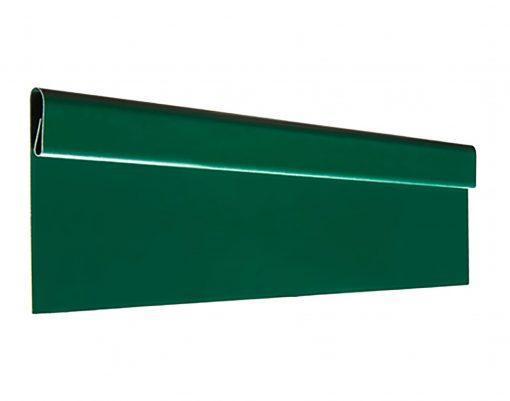 Финишная планка с покрытием GreenCoat Pural BT зеленый мох (RAL6005)