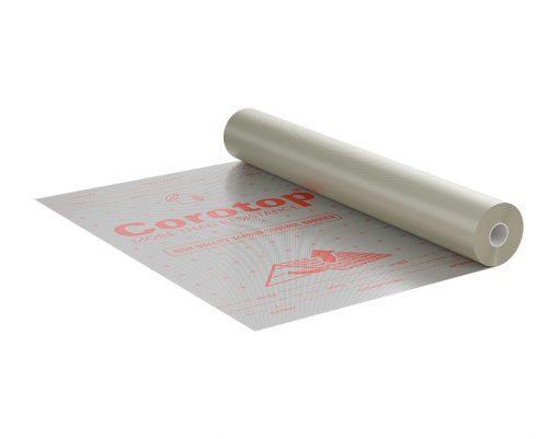 Corotop Metallic 80 активная пароизоляционная мембрана с алюминиевым отражающим слоем 75м2