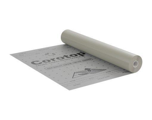 Corotop Reflex 115 активная пароизоляционная мембрана с алюминиевым отражающим слоем 75м2