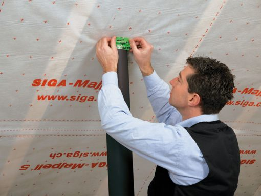 SIGA Rissan 60мм x 25мп односторонняя лента для герметизации проходов труб и кабелей