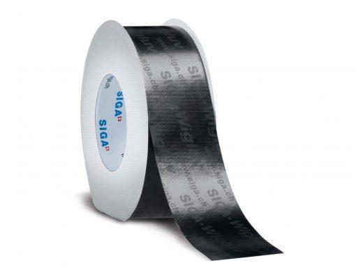 Siga Wigluv black 60мм x 40м односторонняя лента для ветрозащиты, устойчива к УФ