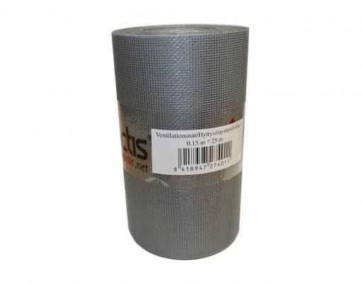 Tectis карнизная вентиляционная сетка 150мм x 25мп, ячейка 1 x 1 мм